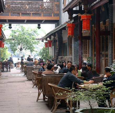 Teahouse in Chengdu